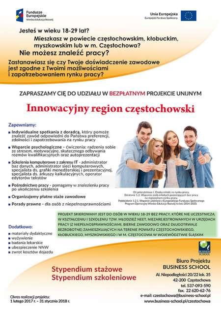 Innowacyjny region częstochowski