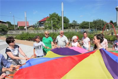 Goście z Białorusi w Kłomnicach