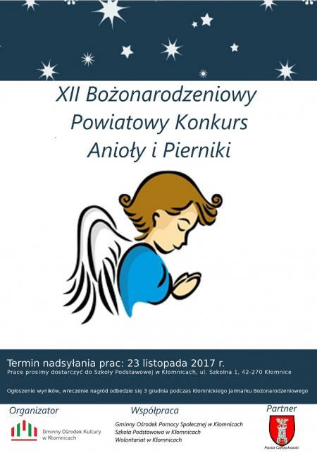 XII Bożonarodzeniowy Powiatowy Konkurs Anioły i Pierniki