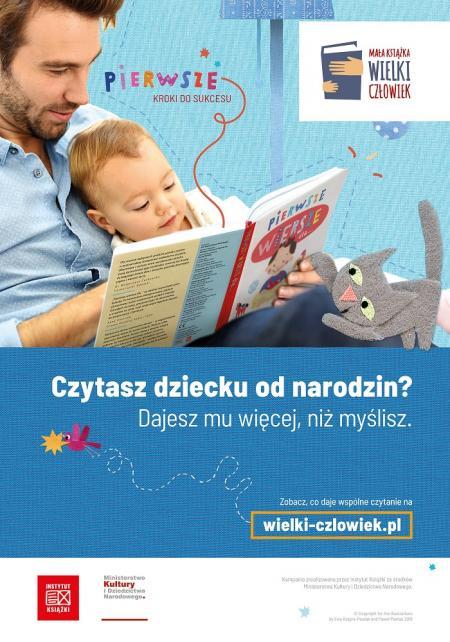 Dlaczego warto czytać małemu dziecku?