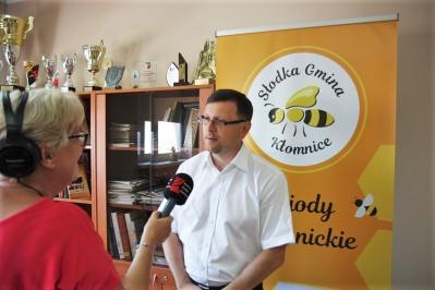 Radio Katowice o Święcie Pszczoły