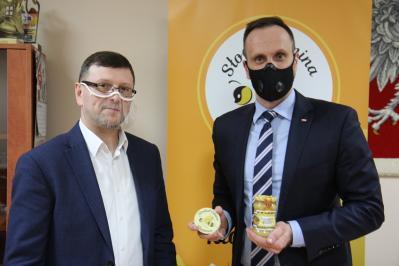 Wizyta Wiceministra w Gminie Kłomnice
