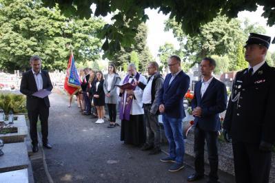 Władze gminy Kłomnice uczciły pamięć ofiar II Wojny Światowej